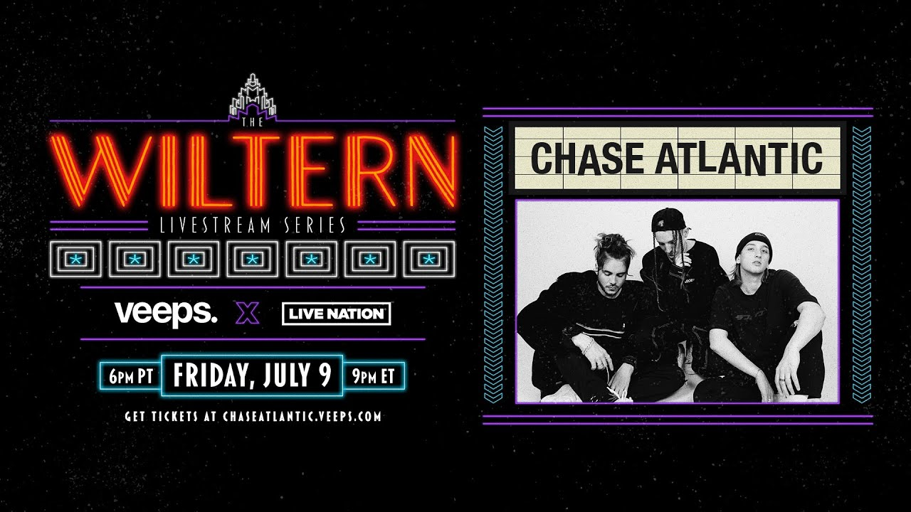 LIVE NOW: Chase Atlantic | The Wiltern Livestream Series