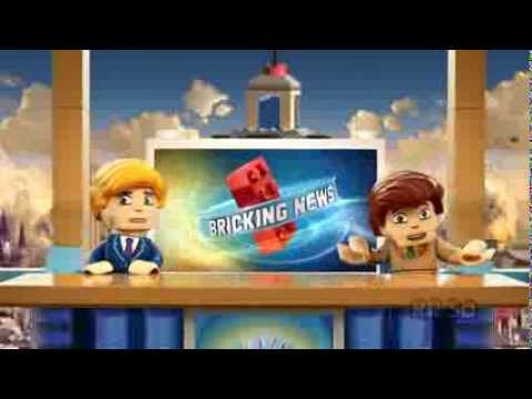 Kre-O Cityville Invasion - Breaking News Report