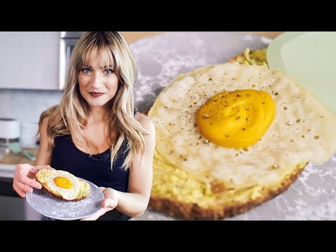 I TRIED MAKING VEGAN FRIED EGGS | How To Make A Vegan Egg | The Edgy Veg