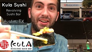 KULA Revolving Sushi Bar in Austin, TX!!! SUBSCRIBE to my channel t...