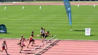 Little Athletics State Track and Field Championships NSW 2012 U11 Boys 60m Hurdles Final