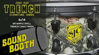 "Josh Dun ""Trench Camo"" Snare Soundbooth"