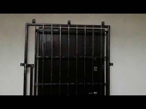 """как сделать """"кованую"""" решетку на дверь"""