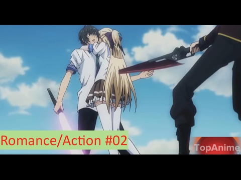 Top Anime Daily -  Top 10 Romance/Action Anime HD #02
