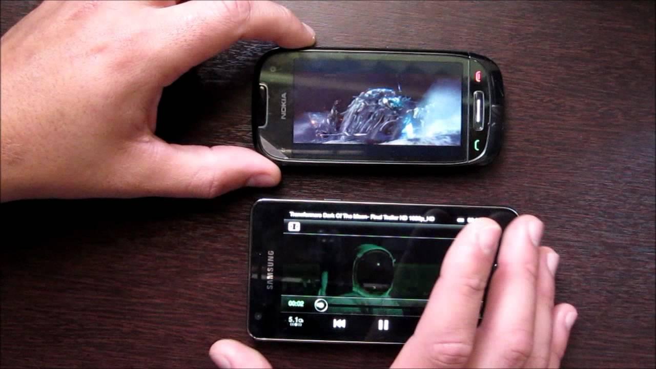 Symbian vs Android - Galaxy S 2 vs Nokia C7