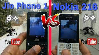 Nokia 216 VS Jio Phone 1 full & final review in hindi