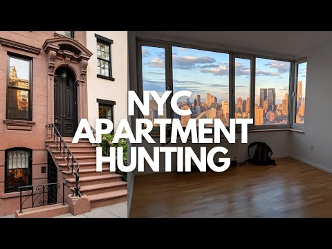 NYC APARTMENT HUNTING (w/ Rent Prices)