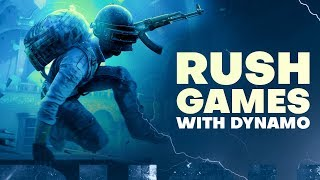 PUBG MOBILE LIVE WITH DYNAMO GAMING | HYDRA SQUAD ACTION IN CONQUEROR LOBBY