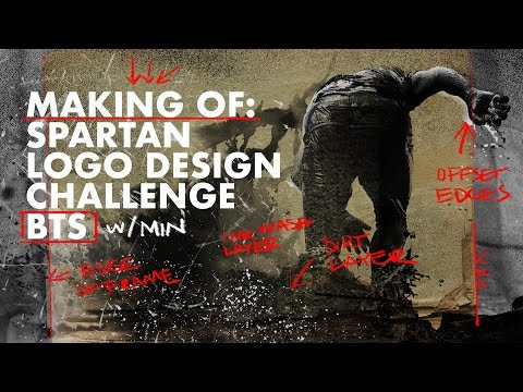 Making of Spartan Logo Design Challenge: Behind The Scenes