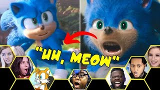 REACTORS REACT To The Old and New Sonic Look in the Sonic (2020) Trailer