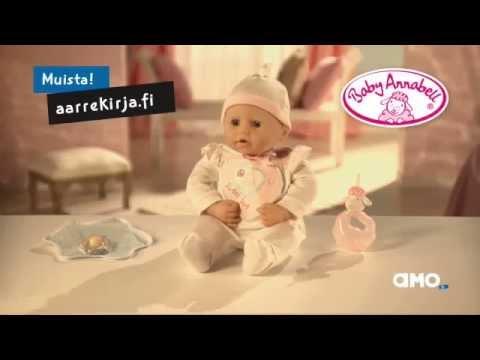 Baby Annabell - interaktiivinen vauvanukke - YouTube