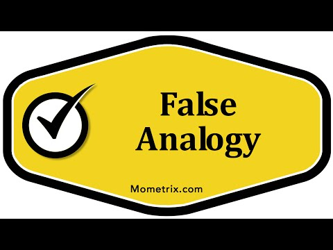 Best False Analogy Examples