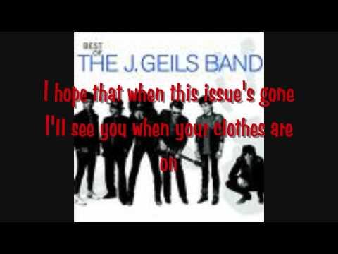 J Geils Band  Centerfold WLyrics
