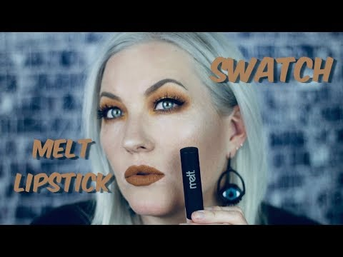 Melt Cosmetics Lipsticks - Watch Me Swatch Them All! - Sarah Sargent