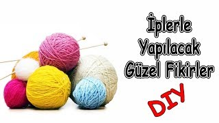 İplerle Kendin Yap Fikirleri | Turn Strings into interesting Diy ideas
