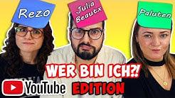 WER BIN ICH? CHALLENGE YouTuber-Edition! Kaan VS. Dania VS. Bianca
