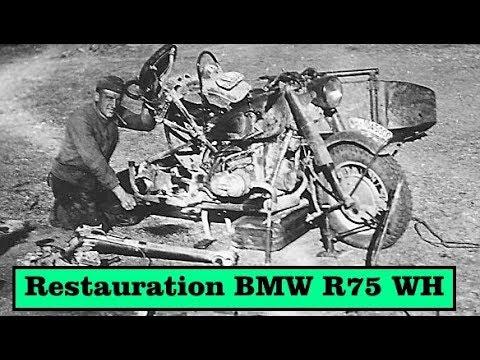 WH- BMW R75 Wehrmacht - Die Neu Originalität (Subtitel English)