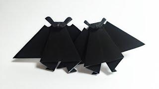 Good Luck Bat Origami Videos Clips