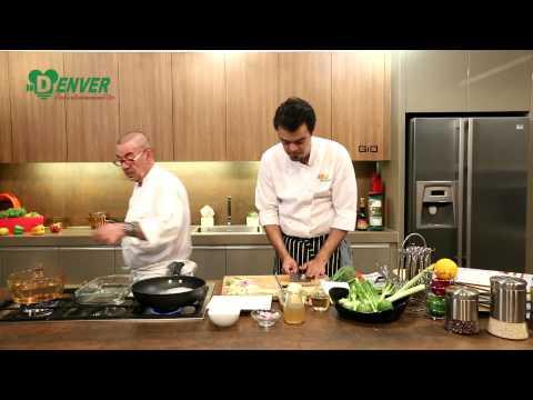 เชฟมือทอง (Chef Mue Thong) 13-06-15 เมนู: ปลากะพงนึ่งแอสพารากัสซอสเฟนเนล