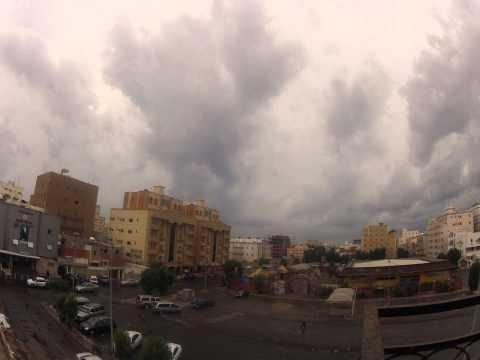 Rainy day in Jeddah Nov 2012