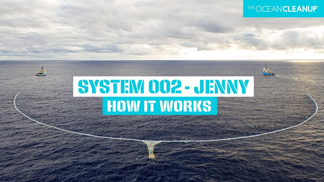How System 002 Works | Cleaning Oceans | The Ocean Cleanup