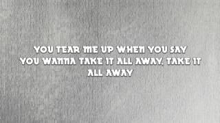 Owl City - Take It All Away (HD Lyrics Video, No Time/Pitch Editing)