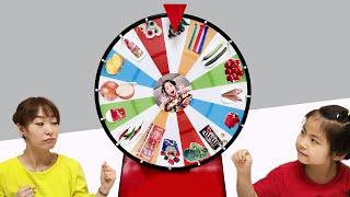서은 VS 엄마 VS 유준 돌림판 식판 음식 정하기 대결 눈알 로프 쿄호 젤리 먹방  야채 Seoeun VS Mommy Wheels Contest Mukbang
