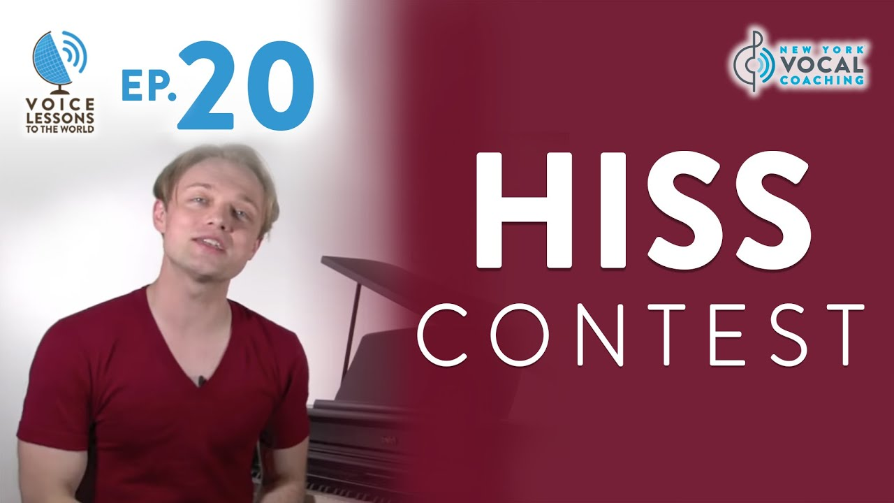 "Ep. 20 ""Hiss Contest!"" Cover"
