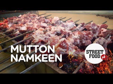 Charsi Tikka of Peshawar Namak Mandi | Mutton Namkeen |  Pakistan Street Food