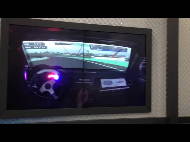 Simulador em Veiculo Real Misubishi Lancer EVO RS 1