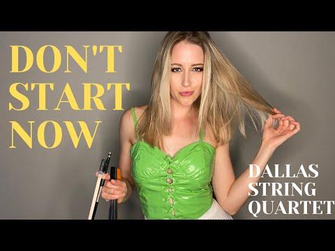 "Dallas String Quartet ""Don't Start Now"" - Official Music Video (Dua Lipa Instrumental Cover)"