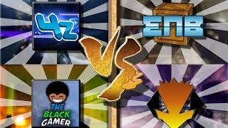 2v2 gun sync   escapethe4z theblackgamer vs enb taubsiii   cod aw cod mw2 cs go fo4