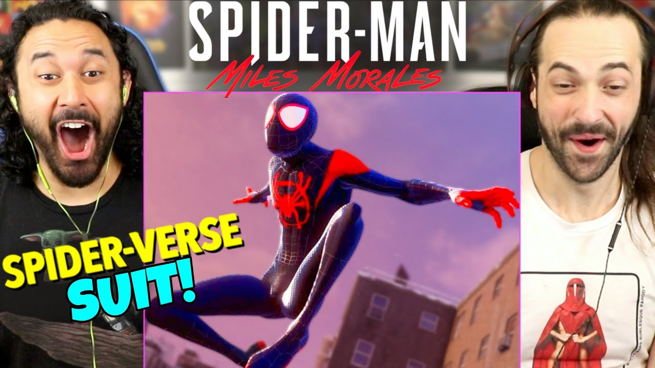 Spider-Man: Miles Morales | INTO THE SPIDER-VERSE SUIT REVEAL Gameplay TRAILER - REACTION!