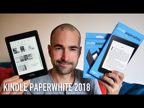 Amazon Kindle Paperwhite 2018 | All-New & Waterproof!