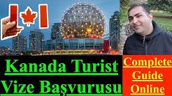 Evde oturarak Kanada turist vize başvurusu nasıl yapılır (ONLINE)? - HG.PAK