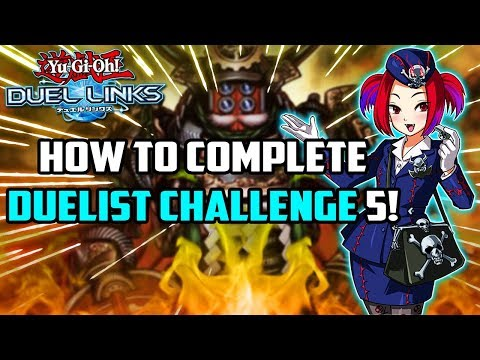 How To Complete Duelist Challenge 5 in Yu-Gi-Oh! Duel Links! (March 2019 Duelist Challenges)