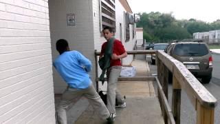Funny ass fight black vs Puerto rican