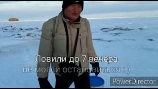 Зимняя рыбалка бухта Тихая Сахалин