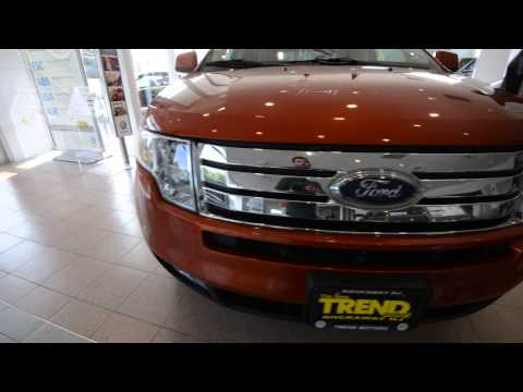 2007 Ford Edge SEL AWD (stk# 29758A ) for sale at Trend Motors Used Car Center Rockaway, NJ