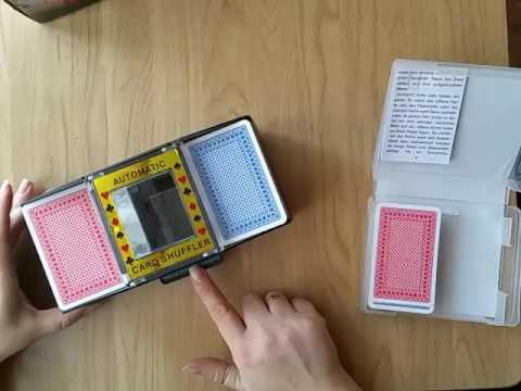 Kartenmischmaschine Test