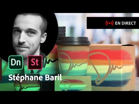 Masterclass avec Stéphane Baril | Adobe Stock et Adobe Dimension CC | Adobe France