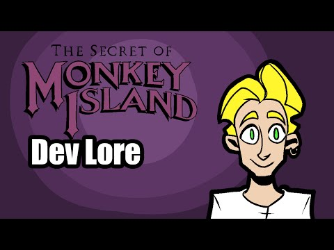LORE - The Secret Of Monkey Island Dev Lore In A Minute!