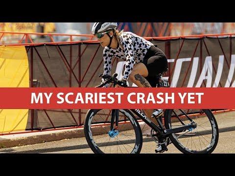 My Scariest Crash Yet | Red Hook Crit Brooklyn