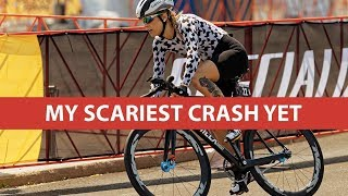 My Scariest Crash Yet | Red Hook Crit Brooklyn