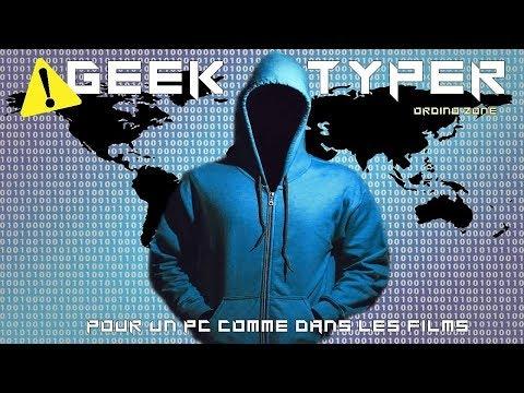 Comment avoir un PC de hacker ?