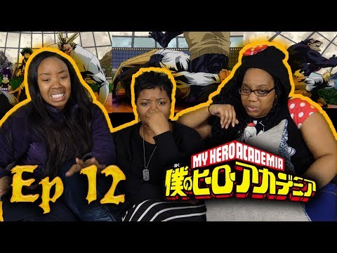 """ALL MIGHT GONE D!E!!!😱 My Hero Academia 1x12 """"All Might"""" Family/Group Reaction"""