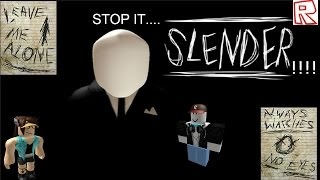 Roblox - Stop It Slendy!! w/FGF | Funny Moments