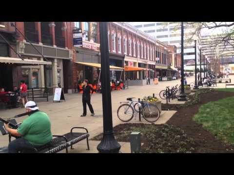 Market Square in Knoxville, Tennessee