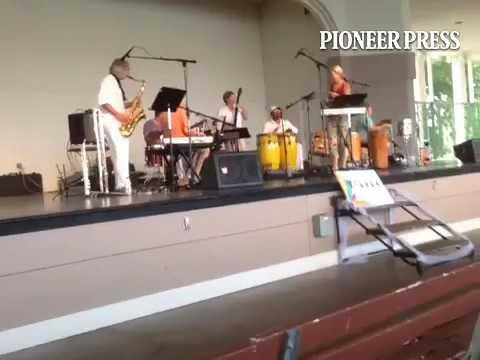 Happening now: Xibaba, free Brazilian jazz at Lake Como...let the music transport u...