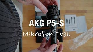 AKG P5-S Dynamisches Mikrofon Test (XLR Gesangsmikrofon)
